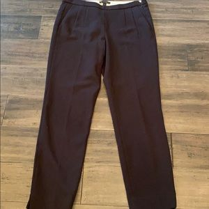 J.Crew Black Ankle Length Trousers